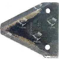 Сегмент Н.066.14 ножа режущего аппарата Дон, Акрос, Вектор, фото 1