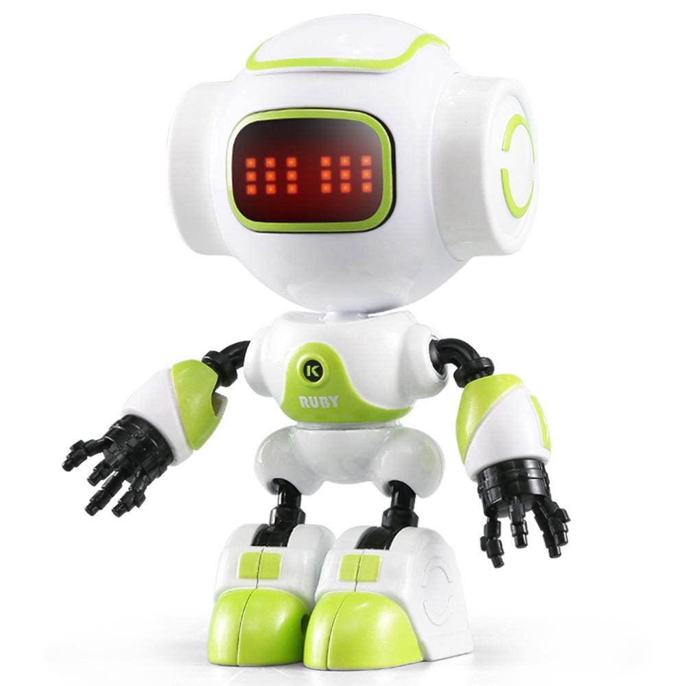 Мини робот-компаньон JJRC R9 Ruby Luby Бело-розовый (JJRC-R9R) бело-зелёный