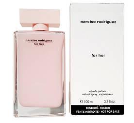 Тестер женский Narciso Rodriguez For Her, 100 мл