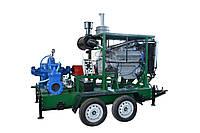 Мотопомпа для полива с дизельным приводом АНД 400-105