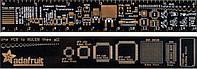 PCB Ruler линейка шаблон для электронщика радиолюбителя 15см id: 10.03798