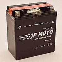 Аккумулятор мотоциклетный JP Moto 18Ah-12v YTX20CH-BS , 12В, 18Ач, EN240А