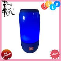 Портативная колонка со светомузыкой JBL Pulse 3 Mini (Синяя), фото 1
