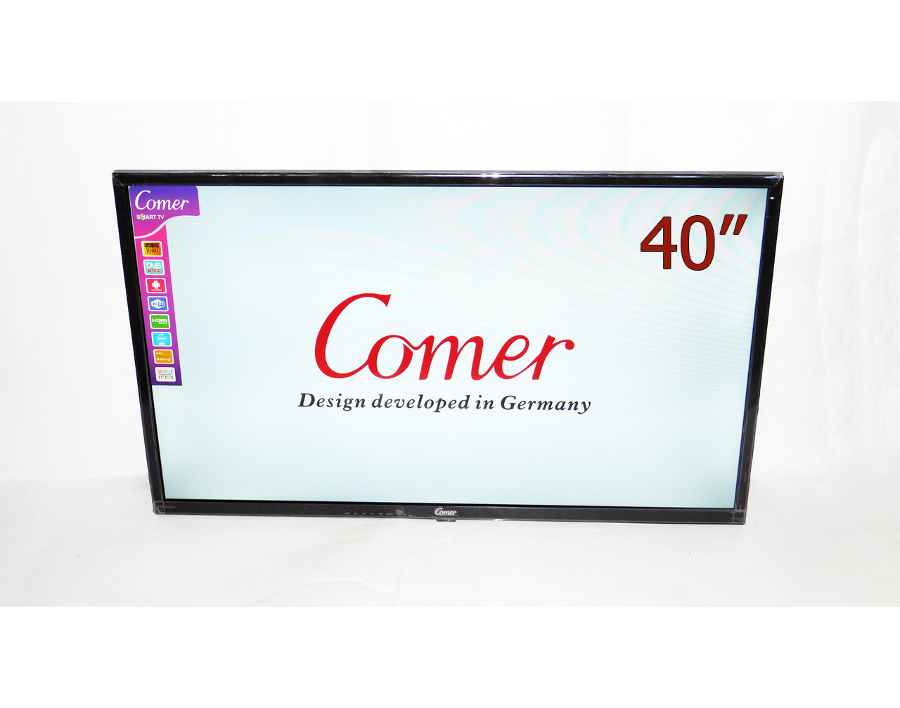 🔲 Телевизор Comer 40 Smart + Т2 Смарт