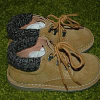 Замшевые ботинки демисезон 27 размер.Италия, фото 1