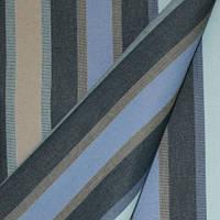Ткань для улицы хорека, шторы для летнего кафе Дралон полоса синий/голубой/бежевый тефлон