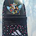 Носки Женские черные в крапинку размер 36-40, фото 3
