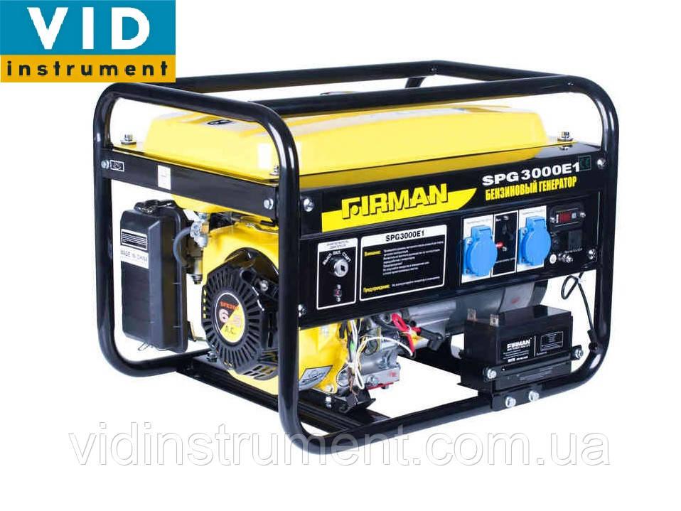 Генератор Firman SPG 3000 (2.5 Квт)