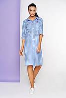 Платье женское в полоску ЛП-17-0819(215)