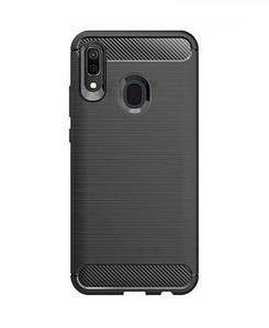 Чехол GLOBAL Case Leo Samsung A30 черный (1283126491313)