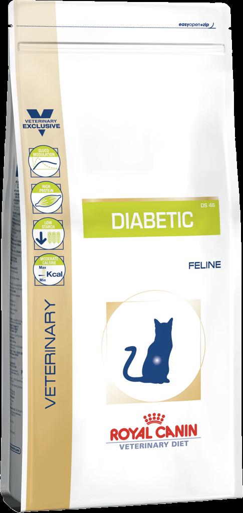 Корм для кошек при сахарном диабете Royal Canin DIABETIC FELINE 0,4 кг