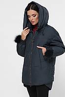 Зимняя женская куртка  большого размера арт.862 с 44 по 52 (гмt)