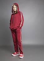 Спортивный костюм OV2U для девочки, бордовый