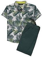 Костюм рубашка и шорты для мальчика 3-4 года на рост 98-104см George Джордж (Англия)