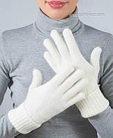 Женские белые перчатки PR-1