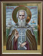 Икона Святого Сергия Радонежского.