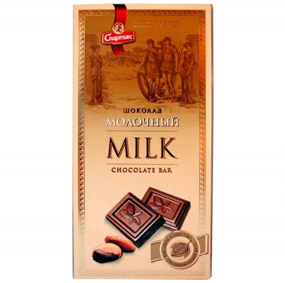 Молочный шоколад Спартак 90 г