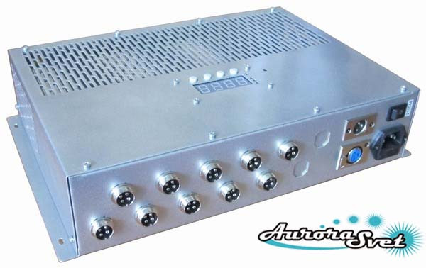 БУС-3-10-450MW блок управления светодиодными светильниками, кол-во LED драйверов - 10, мощность 450W
