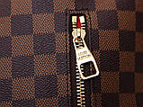 Рюкзак Луи Витон Sperone  Damier Enen, кожаная реплика, фото 6