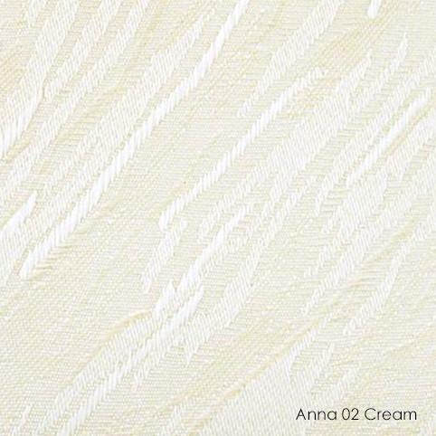 Вертикальные жалюзи Anna-02 cream
