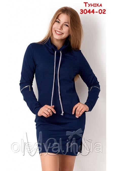 Платье туника на девочку подростка ТМ Mevis 3044 Размер 164