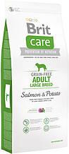 Корм для собак Brit Care Adult Large Breed Salmon & Potato 12 кг 132727
