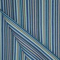 Ткань для тента дралон полоса синий/голубой/бежевый тефлон, гамак-ткань