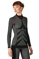Термокофта Spaio women W01 S Black-red