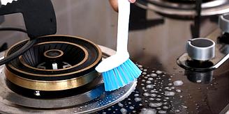 Щетка для мытья посуды на длинной ручке