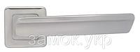 Дверная ручка с накладками WC MARIANI ARTE хром матовый