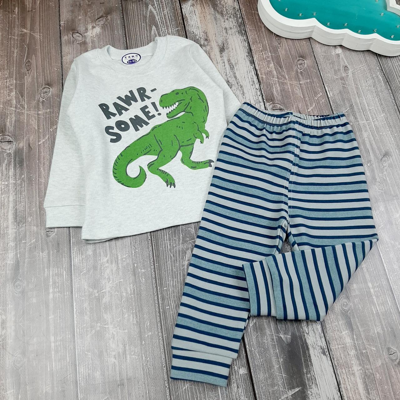 Детская пижама Дино 90
