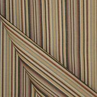 Полосатая ткань для тента, уличных подушек, штор Дралон бежевый в узкую полоску тефлон, гамак-ткань