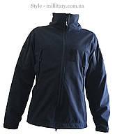 Куртка тактична SoftShell / синяя