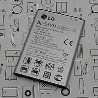 Батарея аккумуляторная LG G3 D855 BL-53YH Сервисный оригинал с разборки (до 10% износа)