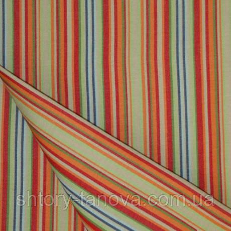 Уличная ткань дралон в узкую полоску меланж тефлон для садовой мебели, подушек, гамак-ткань