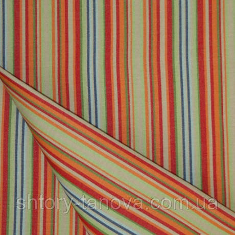 Вулична непромокаємий тканину Дралон у вузьку смужку меланж тефлон для садових меблів, подушок, гамак-тканина