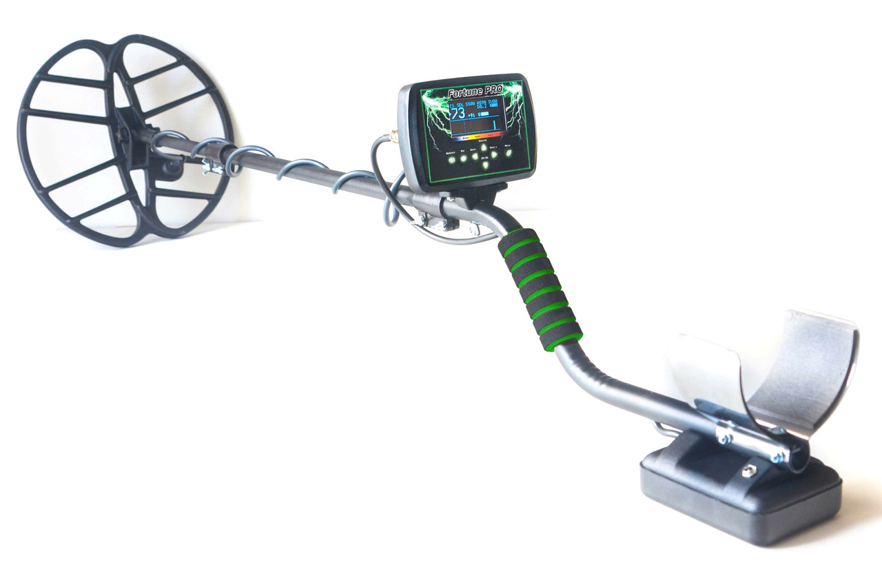 Металлоискатель Металошукач Фортуна ПРО с OLED дисплеем. FM трансмиттер,металлодетектор