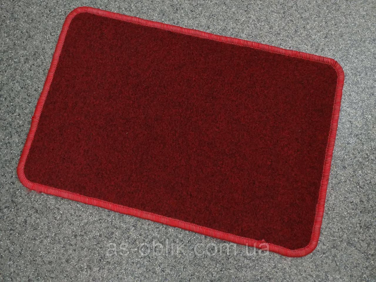 Входной коврик красный 600х400 мм Флин