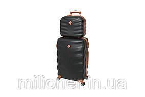 Комплект чемодан + кейс Bonro Next (небольшой) черный