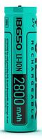 Аккумулятор Videx 18650 2800mAh без защиты