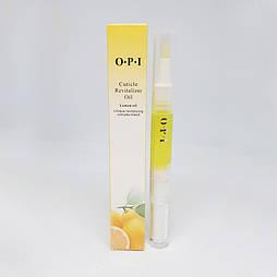 Масло для кутикул O.P.I. в карандаше 5мл (лимон)