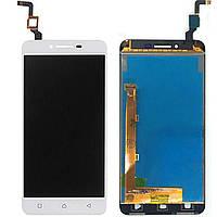 Модуль LCD Lenovo K5 / A6020a40 (светлый шлейф) + touchscreen white orig