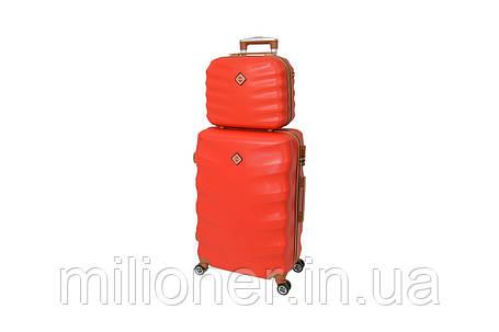 Комплект чемодан + кейс Bonro Next (средний) красный, фото 2