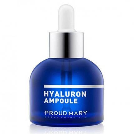 Увлажняющая ампульная сыворотка с гиалуроновой кислотой Proud Mary Hyaluron Ampoule, 50ml, фото 2