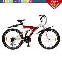 Велосипед спортивний 26 дюймів Profi M2615E Shimano