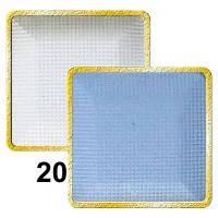 Тени для век компактные (2х цветные) MaxMar № 20