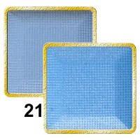 Тени для век компактные (2х цветные) MaxMar № 21