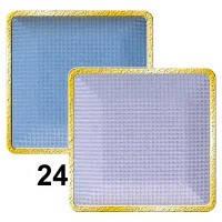Тени для век компактные (2х цветные) MaxMar № 24