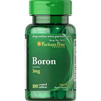 Puritan's Pride Boron 3 mg 100 Tab