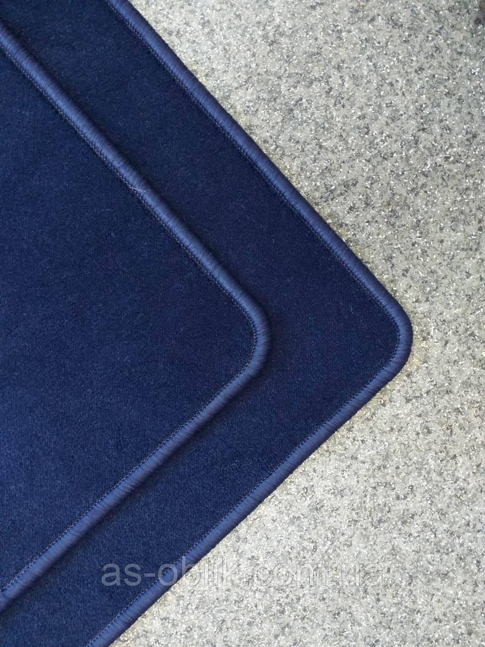 Коврик прикроватный 700х500 мм синий